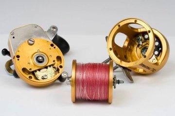 Penn International TRQ100 reel stripped