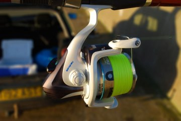 Iridium Stingray Fixed Spool Reel right side