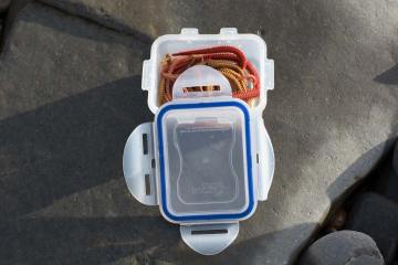 Gulp and Isome Bait storage tub seal