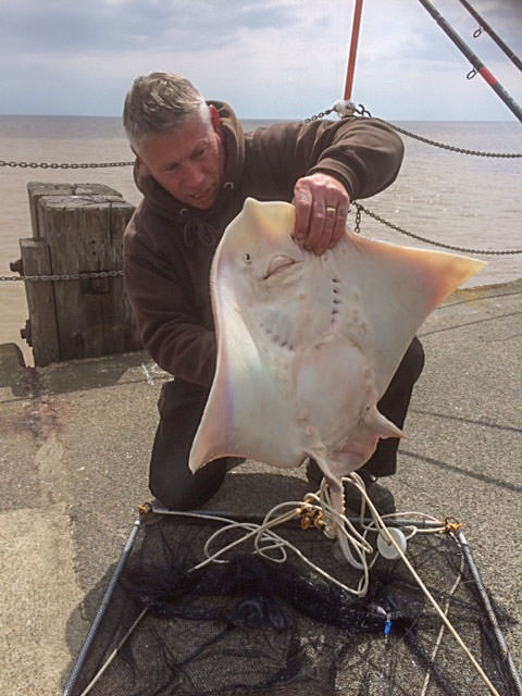 Mick Lloyd with the heaviest fish