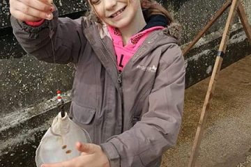 Brooke with her flatfish
