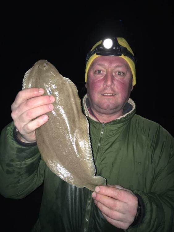 Anthony Hewson with his sole