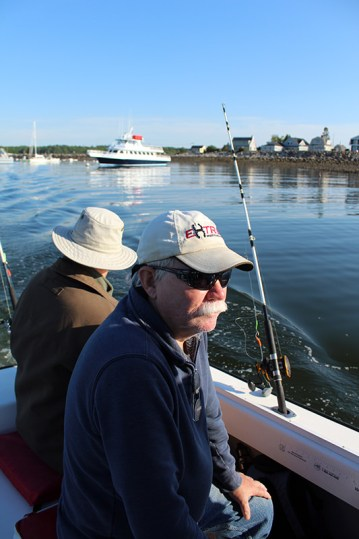 Ralph and Dave on Lily B II