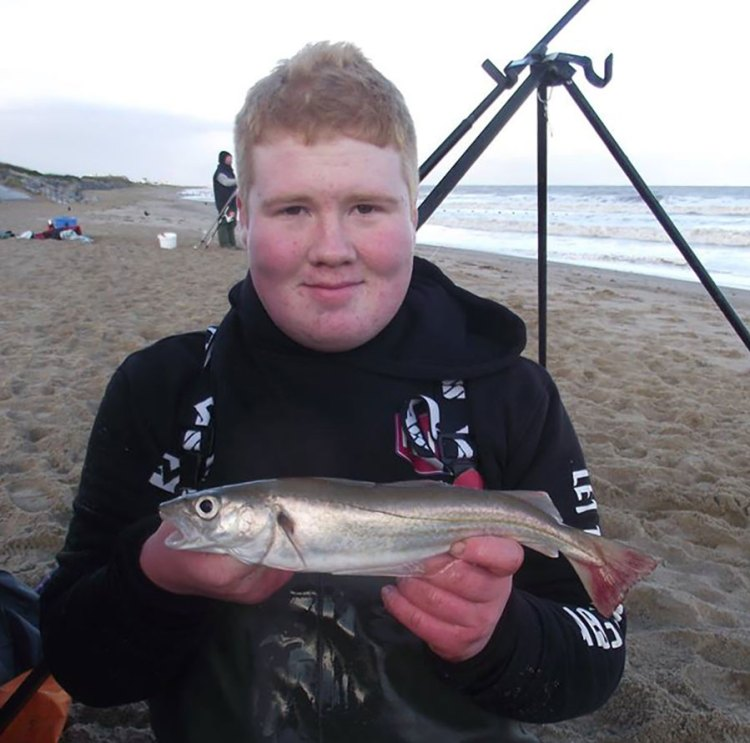 Comp winner Dylan with a whiting