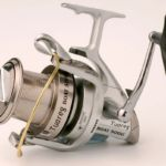 a Grauvell Tuareg fixed spool reel for boat fishing