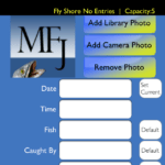 My Fishing Journal for iPhone screen shot