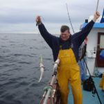 angler lifts in three pollack