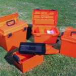 a selection of Sportsmans Utility Dry Boxes
