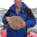 Weymouth plaice fishing Supernova turbot