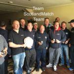 Scottish team with the Joc Goudie Shield