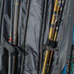 double compartment quiver internal straps