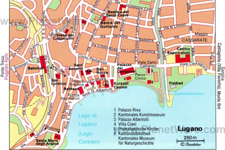 large detailed tourist of locarno map » Full HD MAPS Locations ...