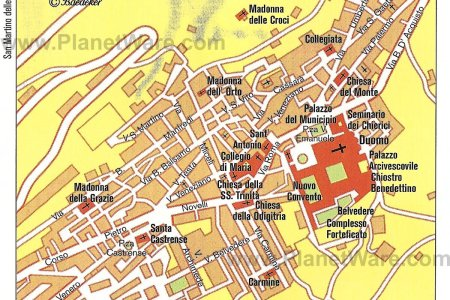 palermo tourist map » ..:: Edi Maps ::..   Full HD Maps