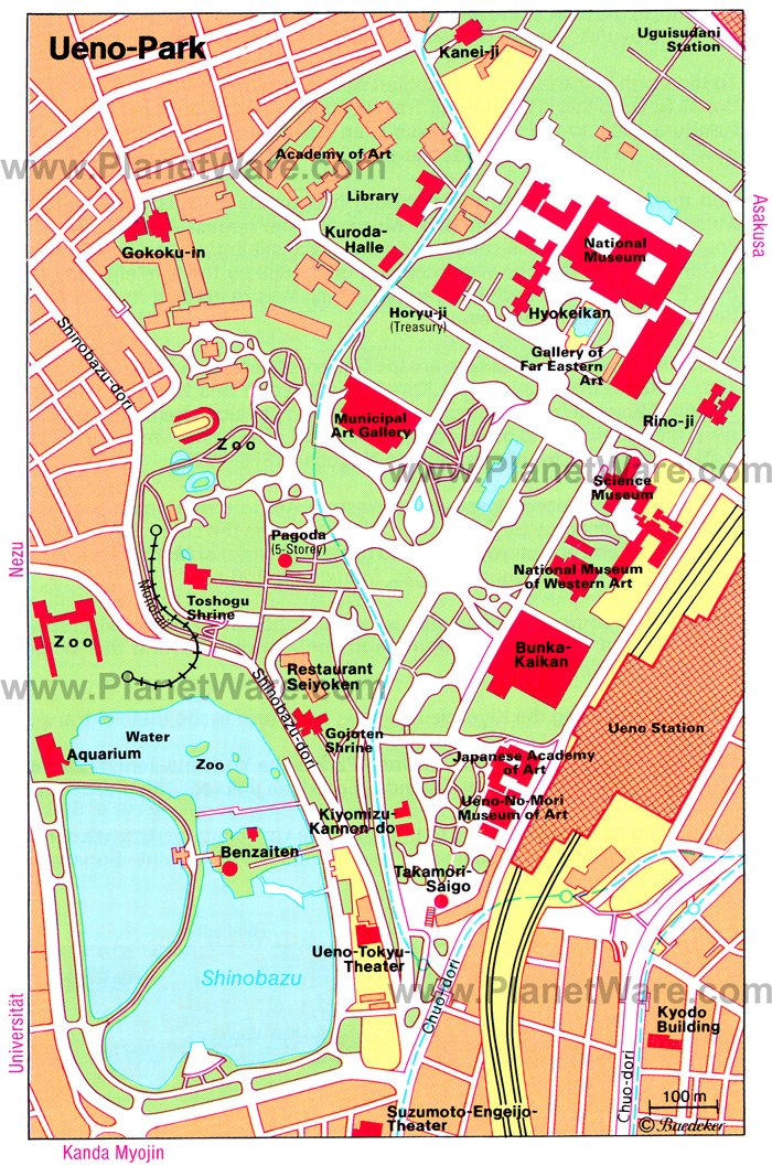 Ueno-Park - Floor plan map