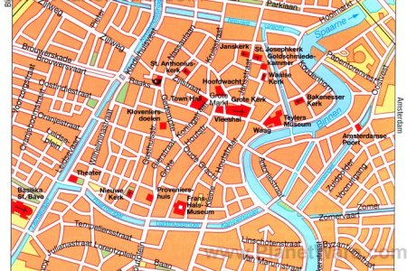 haarlem tourist map » Full HD MAPS Locations - Another World ...