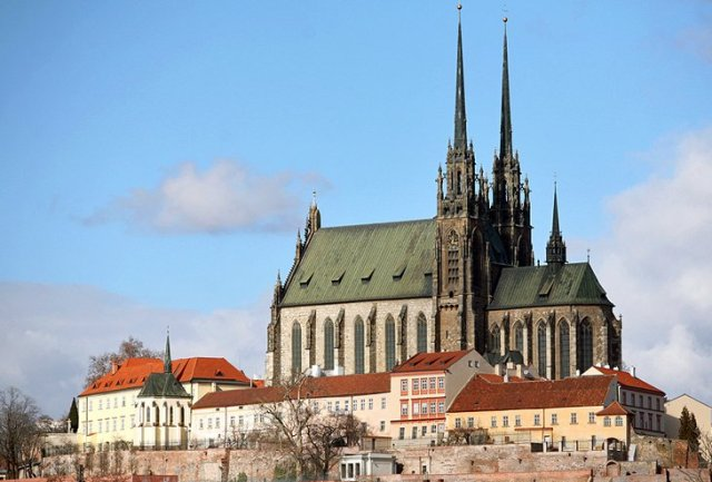 Brno's Cathedral of St. Peter and Paul