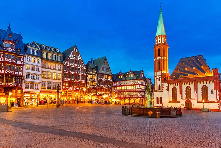 Messe Frankfurt Night