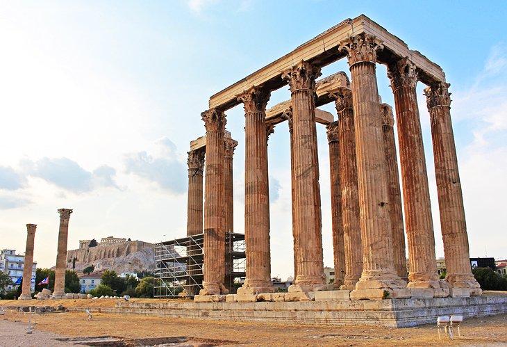 Olympeion: Temple of Olympian Zeus