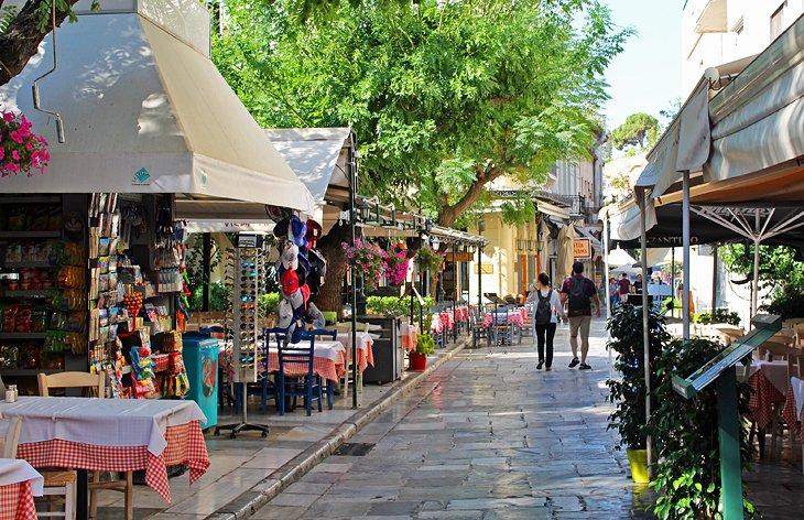 The Charming Neighborhoods of Plaka and Anafiotika