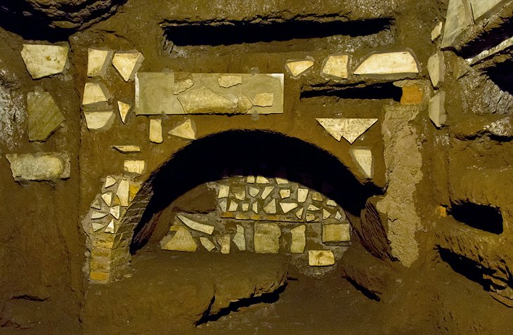 The Catacombs and Via Appia Antica (Appian Way)