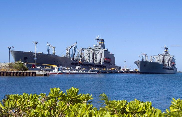 Pearl Harbor and USS Arizona Memorial