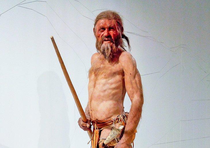 Exhibit at Museo Archeologico dell'Alto Adige