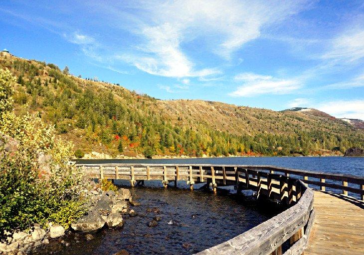 Boardwalk on Birth of a Lake Trail