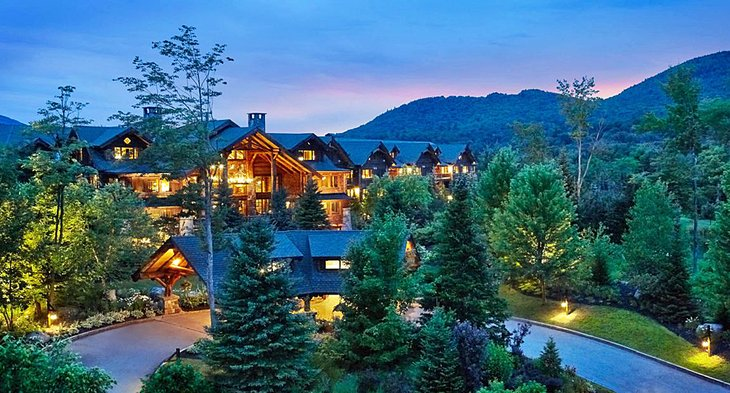 The snowiest week in whiteface mountain (lake placid) is week 2 of march. 11 Top Rated Resorts In Lake Placid Ny Planetware