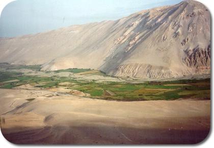 Lluta River valley