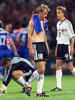 Image result for germany vs croatia 1998