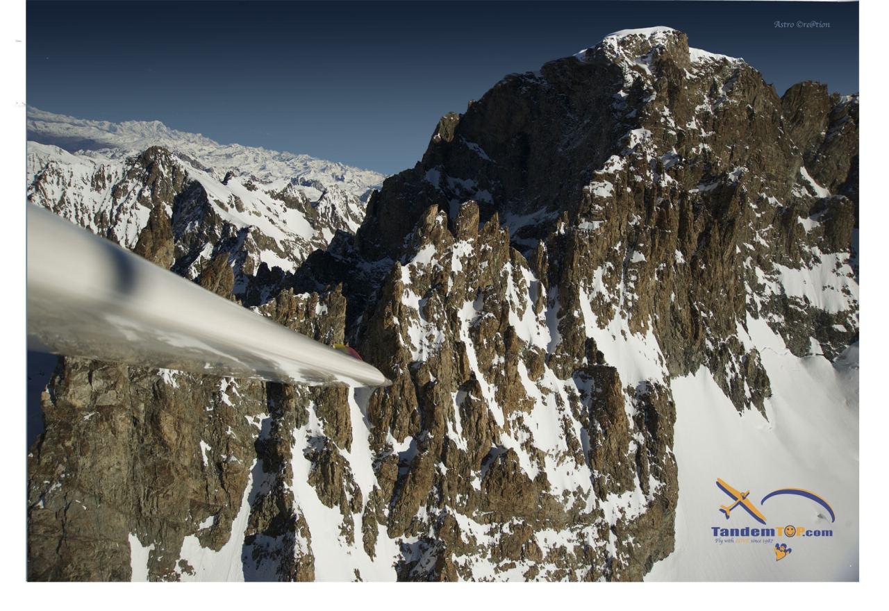 Planeur-GapTallard-Ecrins-Mont-Blanc