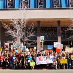 #NoDAPL National Day of Action – 200+ Stand with Standing Rock in Reno