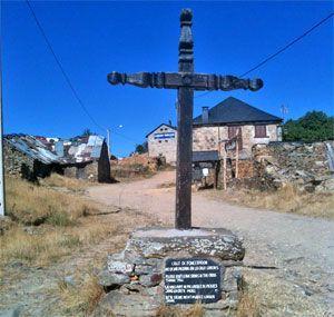 Cruz de Foncebadón en León