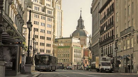 Metro Sevilla, en Madrid