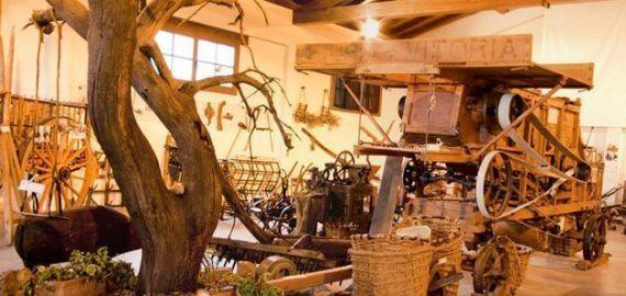 Exposición interior Ecomuseo Valdorba