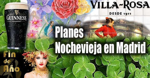 Planes Nochevieja en Madrid