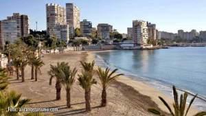 Playa Albufereta de Alicante
