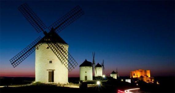 Consuegra: los molinos de viento