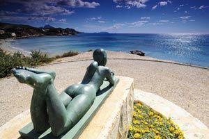 Paseo Voramar de les esculturas