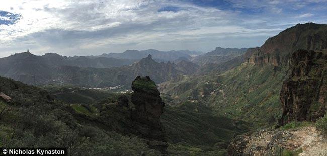 Pico de Las Nieves, en Gran Canaria