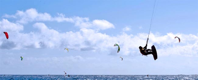 Surf, Windsurf, Kitesurf en Gran Canaria