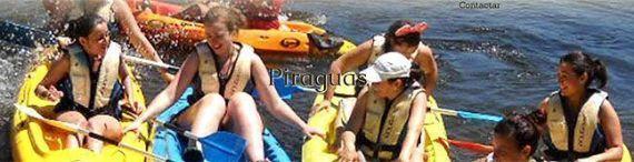 Descenso en Piiragua por el río Tormes
