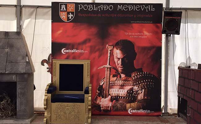 Poblado Medieval: despedidas en fin de semana