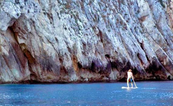 Paddle surf en Girona