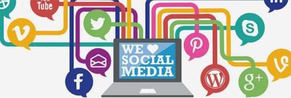 We love social media