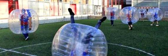 Bubble Football en Acción
