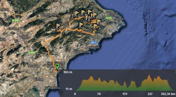 Rutas todoterreno montes de Alicante