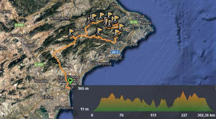 Rutas todoterreno Montes Alicante