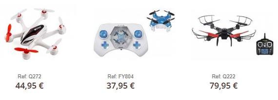 Drones para regalar