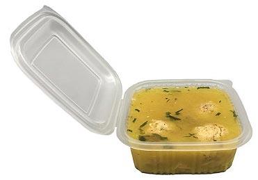 Envase microondeable comida caliente